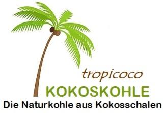 Tropicoco Kokoskohle Logo