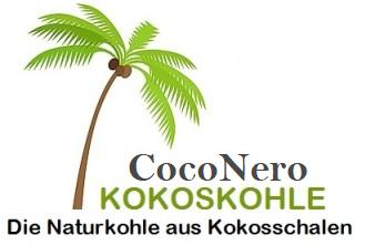 CocoNero Kokoskohle Logo